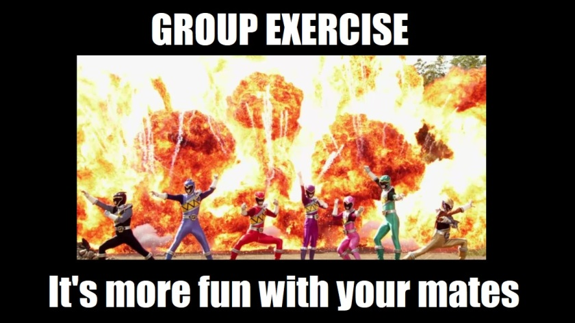 rangers exercise meme